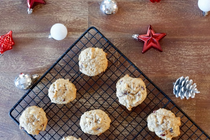 Girls Night In! | White Chocolate Cranberry Cookies